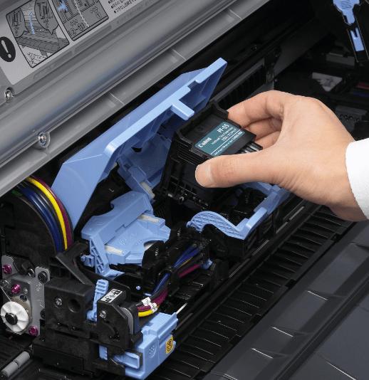 Замена печатающей головки на принтере Canon картинка